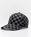 HUF Blackout Checkered Strapback Hat