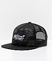 HUF Blackout Trucker Snapback Hat