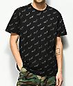 HUF Bolt All Over Black T-Shirt