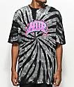 HUF Flamez Black Tie Dye T-Shirt