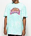 HUF Flamez Mint Tie Dye T-Shirt