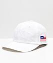 HUF Fuck It Big White Strapback Hat