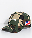 HUF Fuck It Camo Strapback Hat