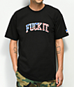 HUF Fuck It Flag Black T-Shirt
