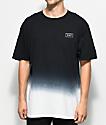 HUF Gradient camiseta con efecto tie dye
