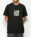 HUF Havana Domestic Box Logo camiseta negra