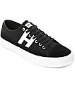 HUF Hupper 2 Lo zapatos de skate en blanco y negro