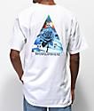 HUF Ice Rose Triangle White T-Shirt