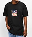 HUF Memorial Box Logo camiseta negra