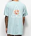 HUF Memorial Triangle Blue T-Shirt