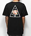 HUF Memorial Triangle camiseta negra