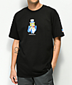 HUF Miss America Fuck It Black T-Shirt