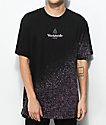HUF Overspray Triangle Black T-Shirt