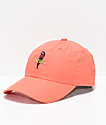 HUF Parrot Coral Strapback Hat