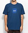 HUF Plant Life Woven Label Blue T-Shirt