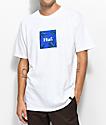 HUF Plant Life Woven Label White T-Shirt