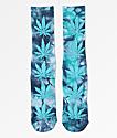 HUF Plantlife Crystal Blue Washed Crew Socks