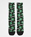 HUF Plantlife Green Buddies 2 calcetines negros