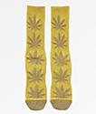 HUF Plantlife Kush Melange Crew Socks