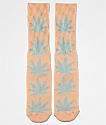 HUF Plantlife Melange Coral Haze calcetines