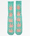 HUF Plantlife Melange calcetines de color aqua