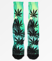 HUF Plantlife Outdoor Green Crew Socks