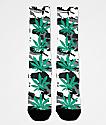 HUF Plantlife White Camo Crew Socks