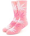 HUF Plantlife calcetines rosados