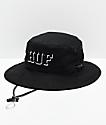 HUF Rivington Boonie sombrero de cubo negro