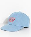 HUF Rome Denim Strapback Hat