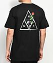 HUF Rosa Calvaria Triple Triangle Black T-Shirt