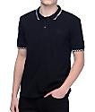 HUF Rudie Black Polo Shirt