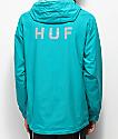 HUF Standard Turquoise Windbreaker Jacket