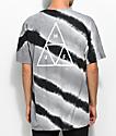 HUF Tiger White & Black Tie Dye T-Shirt