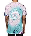 HUF Triangle camiseta teñida anudado