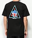 HUF Triple Triangle Shrooms camiseta negra