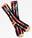 HUF WC Bad Referee Rainbow Tie Dye Crew Socks