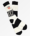 HUF WC Play Maker Black & White Crew Socks