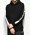 HUF Worldwide Black & White Hoodie