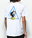 HUF X Felix the Cat Triple Triangle White T-Shirt