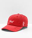 HUF x Budweiser Red Strapback Hat