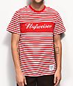 HUF x Budweiser Stripes Red T-Shirt