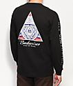 HUF x Budweiser Triangle Black Long Sleeve T-Shirt