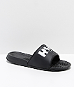 HUF x Felix The Cat Black Slide Sandals