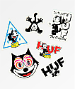 HUF x Felix The Cat Sticker Pack