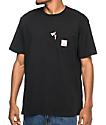 HUF x Pink Panther Black Pocket T-Shirt