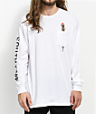 HUF x South Park  Hankey White Long Sleeve Pocket T-Shirt