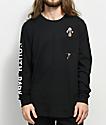 HUF x South Park Hankey camiseta negra de manga larga con bolsillo