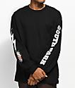 HUF x South Park Kenny Black Long Sleeve Pocket T-Shirt
