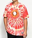 HUF x South Park Kenny Orange & Red Tie Dye T-Shirt